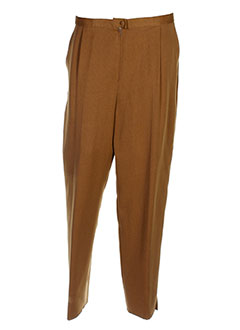Pantalon chic marron CHARLES GUITARD pour femme