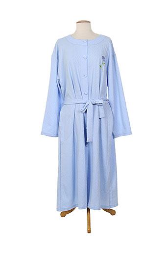 éliane nuit femme de couleur bleu