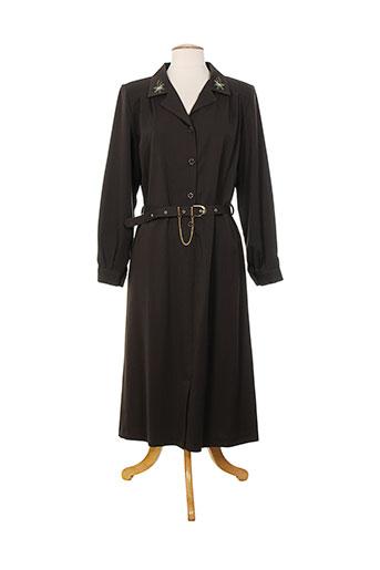 20 et 20 robes et mi et longues femme de couleur marron (photo)