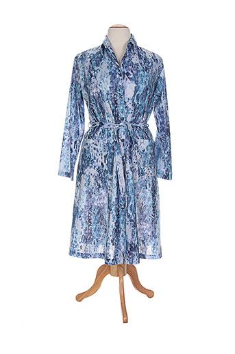 20 et 20 robes et longues femme de couleur bleu (photo)
