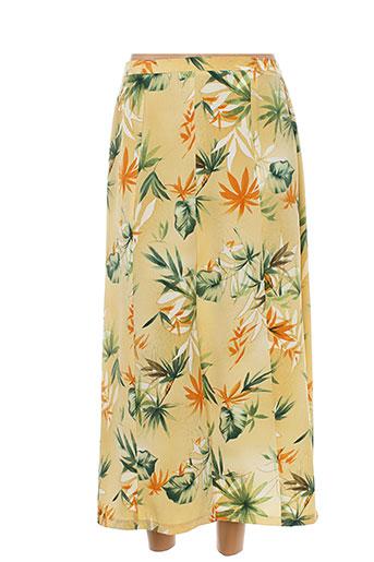 griffon jupes femme de couleur jaune