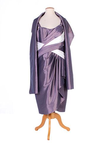 creatif paris robes femme de couleur gris