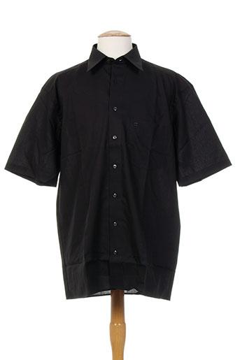 olymp chemises homme de couleur noir