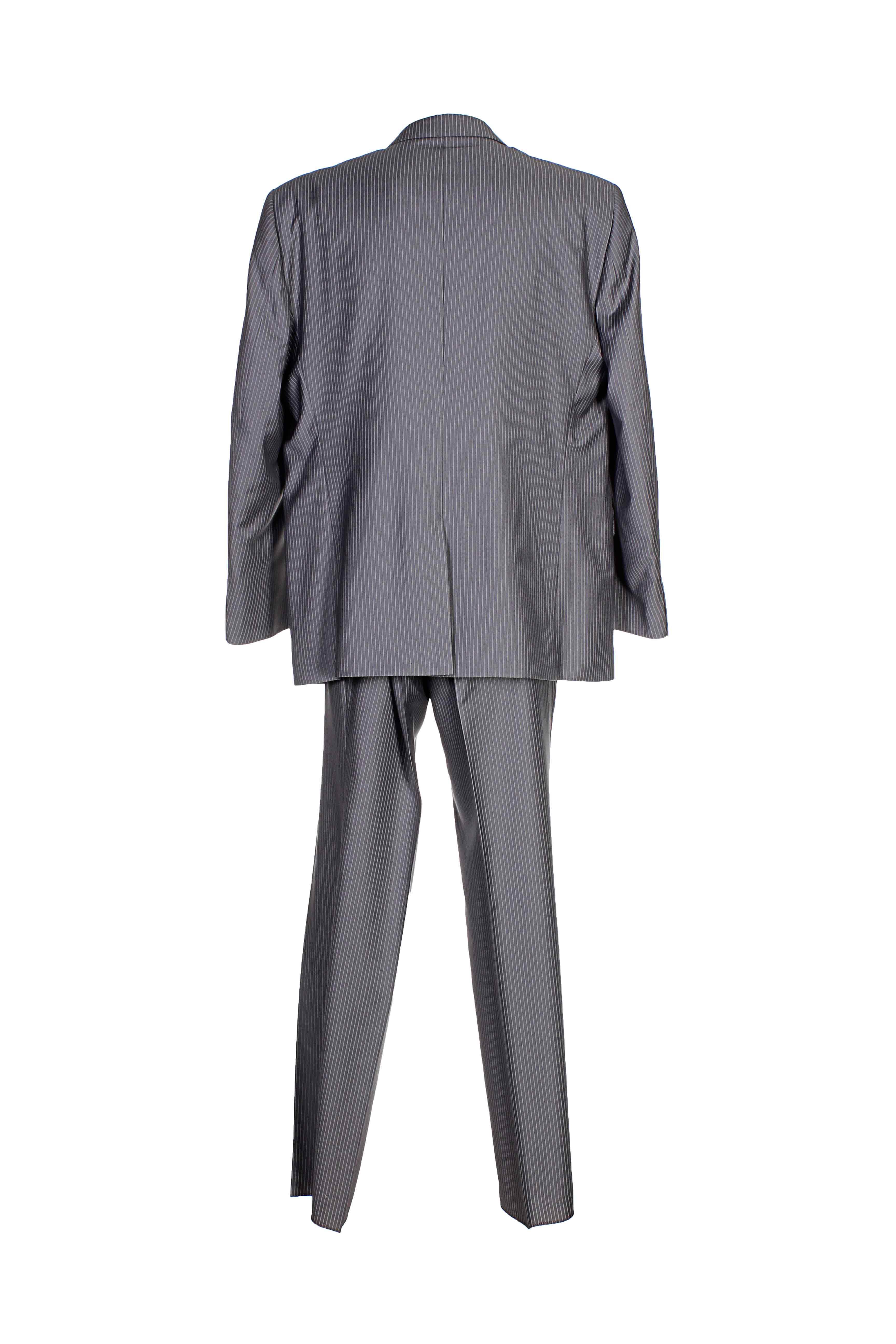 Franck Elisee Costumes Ville Homme De Couleur Gris En Soldes Pas Cher 922171-gris00