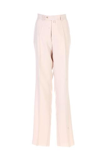 Pantalon chic beige FRANCK ELISEE pour homme