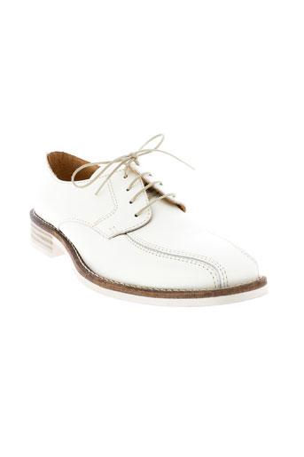 d'anjou chaussures homme de couleur blanc