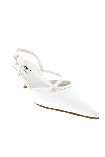 viviane chaussures femme de couleur blanc