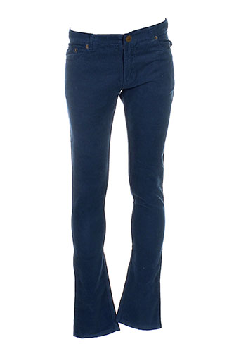 bonton pantalons enfant de couleur bleu