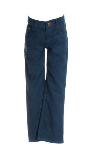 bonton pantalons et decontractes enfant de couleur bleu