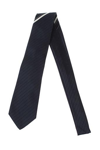 hugo et boss cravates homme de couleur bleu