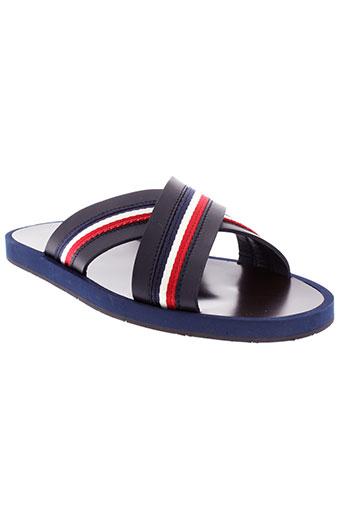 moncler chaussures homme de couleur bleu