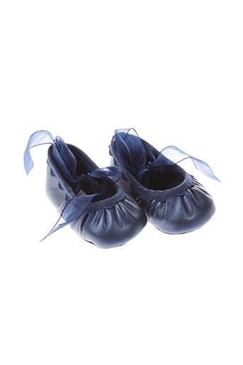 absorba chaussures fille de couleur bleu