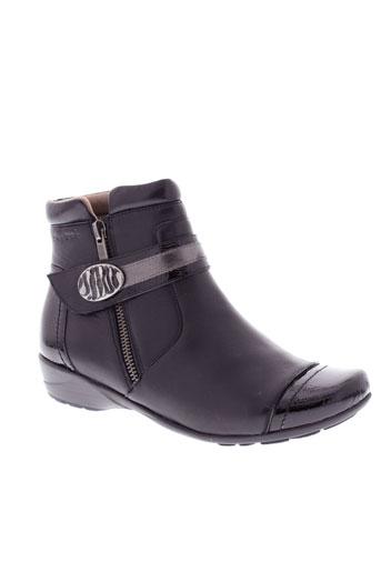sweet boots femme de couleur noir