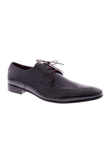 kost chaussures homme de couleur noir
