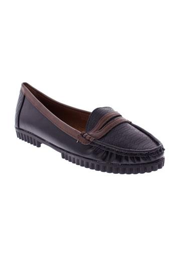 r and be chaussures femme de couleur noir