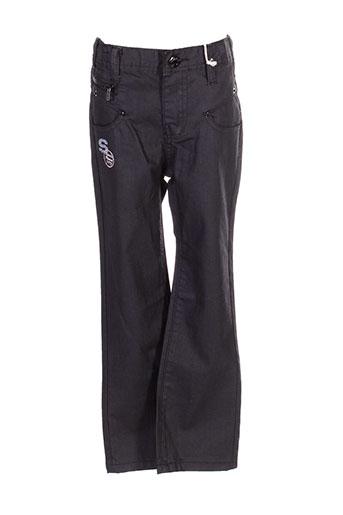 alphabet pantalons fille de couleur noir