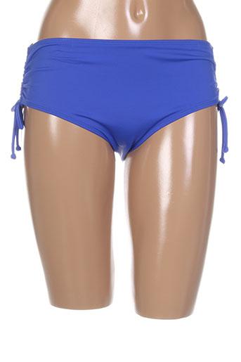 amoena maillots de bain femme de couleur bleu