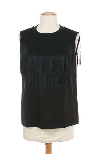 cubic chemises femme de couleur noir