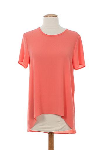 vintage love chemises femme de couleur orange