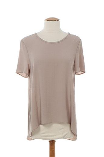 vintage love chemises femme de couleur marron