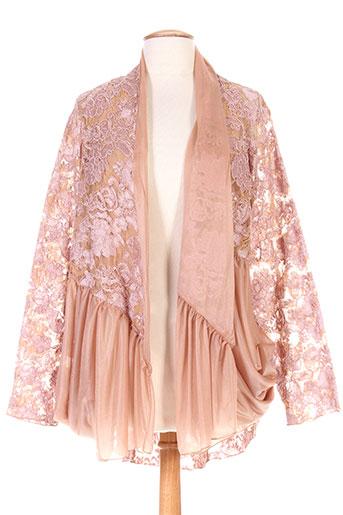 olivier wartowski vestes femme de couleur rose