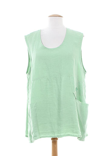 arthurio et lino tuniques femme de couleur vert