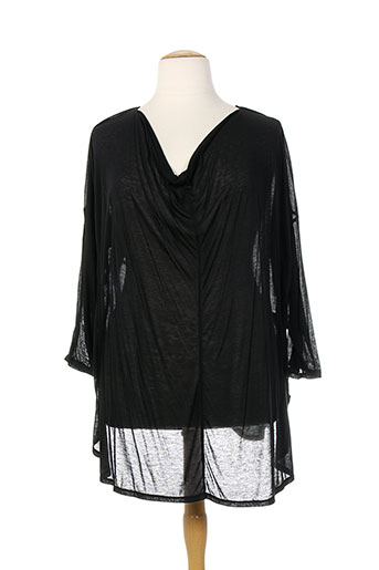 caty lesca chemises femme de couleur noir
