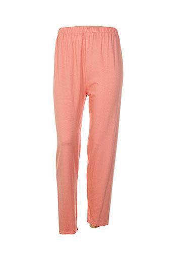martine sam... pantalons femme de couleur orange