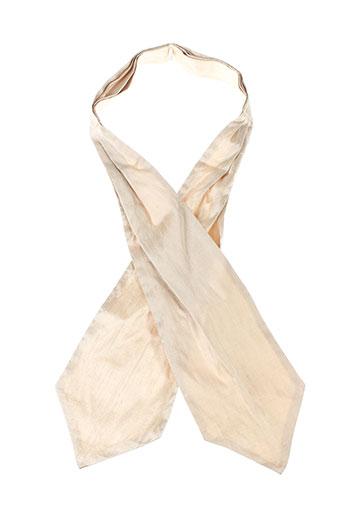 jean de sey accessoires homme de couleur beige