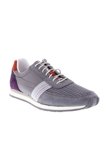 paul et smith baskets homme de couleur gris