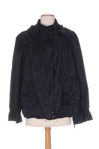 carling manteaux femme de couleur noir