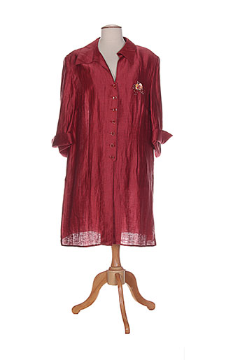 isabell vestes femme de couleur rouge