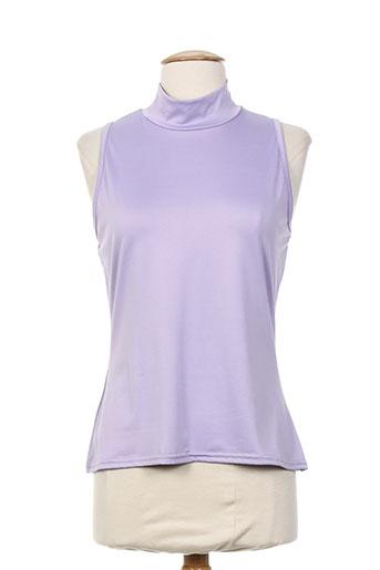 renatto bene chemises femme de couleur violet