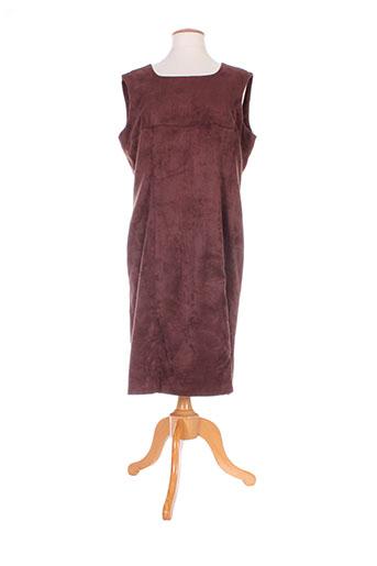 amandine robes femme de couleur marron