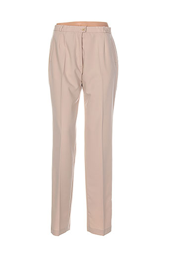 anne et kelly pantalons et decontractes femme de couleur beige