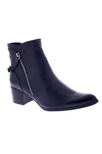 fugitive boots femme de couleur bleu