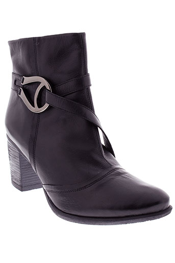 geo et reino boots femme de couleur noir