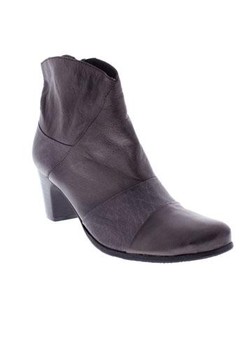 j.metayer chaussures femme de couleur gris