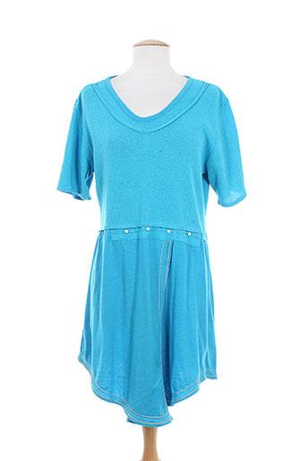 batistame chemises femme de couleur bleu