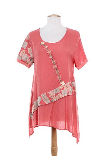 batistame chemises femme de couleur rose