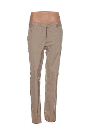 philosophy pantalons femme de couleur beige