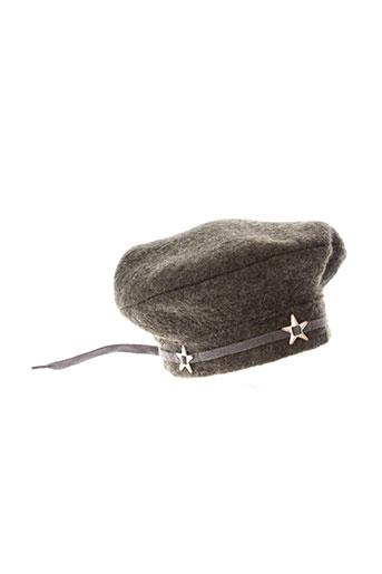 0 et 0 et l et atelier et des et petits chapeaux et bonnets fille de couleur gris (photo)