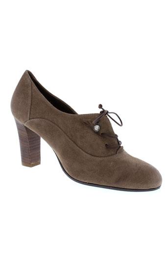 lottusse chaussures femme de couleur marron