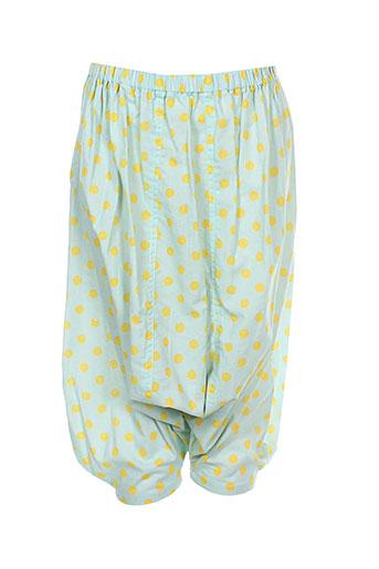 bodebo pantalons fille de couleur vert