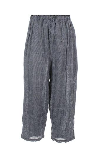 le vestiaire de jeanne pantalons fille de couleur bleu