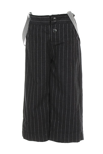 Pantalon casual gris ALBUM DI FAMIGLIA pour garçon