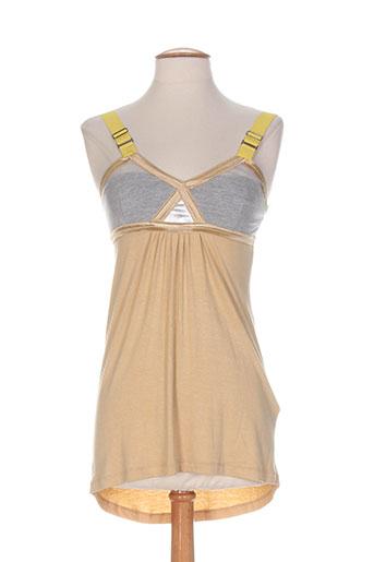freesoul chemises femme de couleur beige
