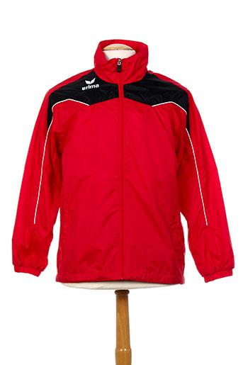 erima manteaux homme de couleur rouge