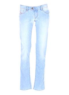 Jeans coupe slim bleu DIESEL pour fille