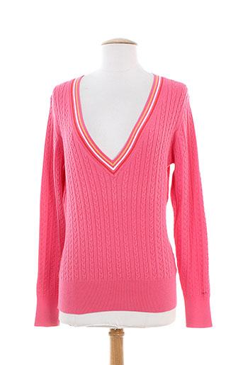 gant pulls femme de couleur rose
